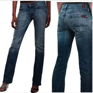 7 For All Mankind button fly Boycut-size 26